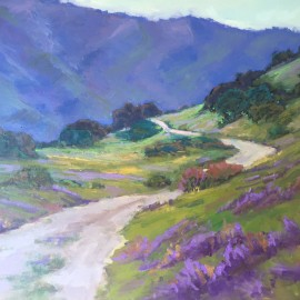 Laguna Mountain Oil Painting