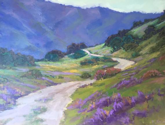 Laguna Mountain Oil Painting