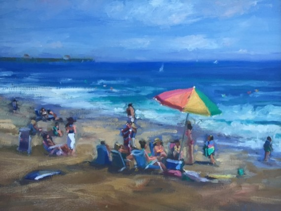 Crystal Cove Beach Painting
