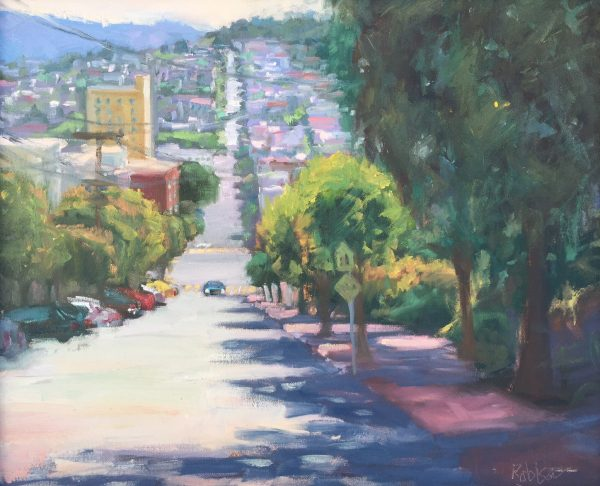 San Francisco Oil Painting