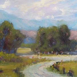 Caspers Park, Ortega Highway 12x16 Oil painting