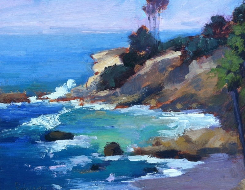 Original Seascape Oil Paintings By Kathleen Robison