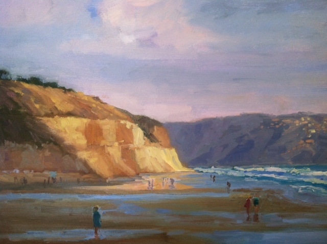 Torrey Pines State Beach Painting