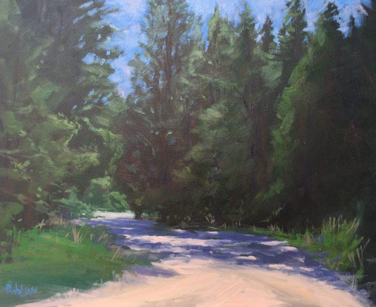 Muir Woods Oil Painting