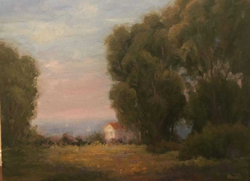 Ocean View 36x48 Original Oil Painting By Kathleen M Robison