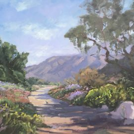 Original oil painting for sale...desert hike.